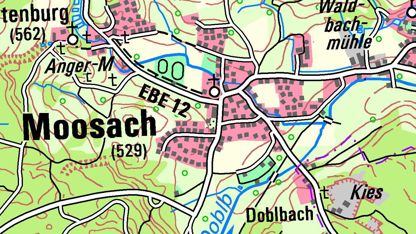 Bayerische Karten
